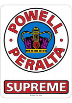 Powell Peralta Supreme OG Sticker