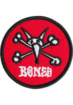 Powell Peralta Vato Rat Patch small red