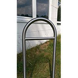 Bicycle leaning bar 460mm with crossbar