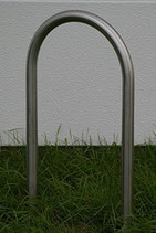 Bicycle leaning bar to dowel on