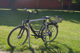 Bicycle leaning bar 500mm wide