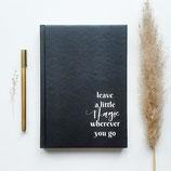 Notebook (schwarz)