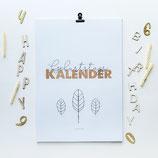 Geburtstagskalender A4 - limited edition