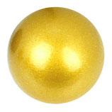Klangkugel gelbgold metallic