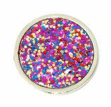 "Coin ""Multi Glitter"""