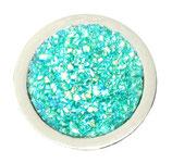 "Coin ""Blue Glitter"""