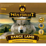 Wolfsblut Range Lamb mit Lamm und Reis 15kg