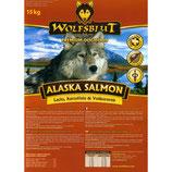 Wolfsblut Alaska Salmon mit Lachs und Reis 15kg