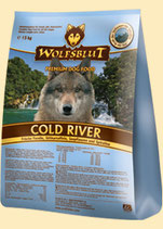 Wolfsblut Cold River mit Forelle und Süßkartoffel 7.5kg und 15kg