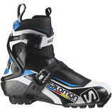 SALOMON S-LAB SKATE PRO BLACK/WH 2016