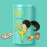 Or tea Kung Flu Fighter geschenk. Mok + zeef + thee