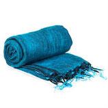 Meditatie omslagdoek blauw