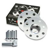 Spurverbreiterung Set 10mm inkl. Radschrauben passend für BMW 1er Cabrio,Coupe (182), 1er E81 (187)
