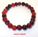 KS8AGDR KOGELARMBAND AGAAT DREAM SLOTJE