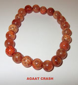 KR8AGCR KOGELARMBAND AGAAT CRASH REK