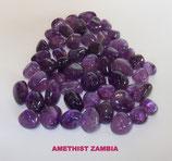 KNAMZA100 KNUFFELSTENEN AMETHIST ZAMBIA 100 GRAM