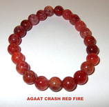KS8ACRF KOGELARMBAND AGAAT CRASH RED FIRE SLOTJE