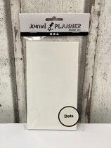 Notizbuch mit Punktraster