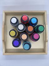 Stoffmalfarbe Extrem Sheen metallic verschiedene Farben
