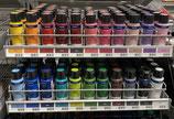 Stoff-Malfarbe verschiedene Farben