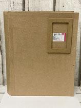 Buch-Papp-Box mit Rahmen