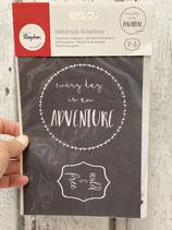 Siebdruck Schablone A5 Adventure