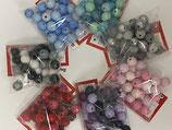 Holzkugeln lackiert 10mm verschiedene Farben