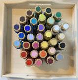 Acrylfarbe versch. Farben