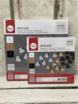 Origami-Faltblätter verschiedene