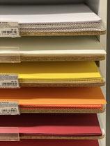Tonzeichenpapier versch. Farben