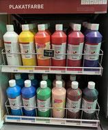 Plakatfarbe versch. Farben