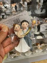 Hochzeitspaar im Ring
