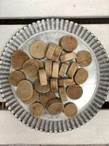 Treibholz-Teile verschiedene Formen