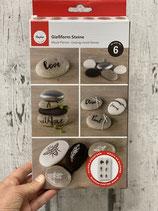Gießform Steine verschiedene