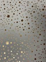 Tonkarton weiß mit Sterne versch.