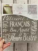 Schablone Francais