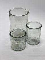 Kerzenglas 3 Größen