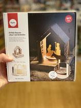 "3D Holz Bausatz ""Haus"" mit Drehteller"