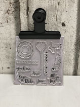 Clear Stamps Love