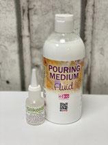 Pouring Medium fluid verschiedene