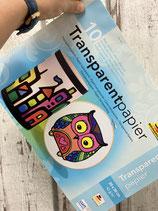 Transparentpapier 10er pack