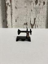 Miniatur Nähmaschine nostalgisch schwarz