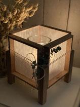 Kreativpaket Klötzchen Lampe mit Pergament