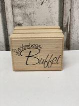 Stempel Leckerbissen Buffet