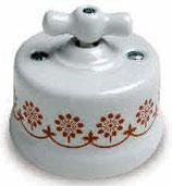 Invertitore ceramica decoro MARRON