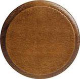 Rosetta in legno noce ø 90 mm