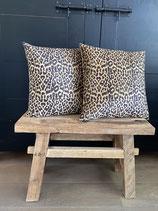 Kussen Leopard Goud
