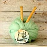Vegane Wolle Mint 1kg