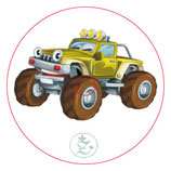 "Libre Sticker ""Monstertruck"""