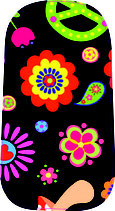 "NEU: Dexcom Sticker ""Flowerpower"""
